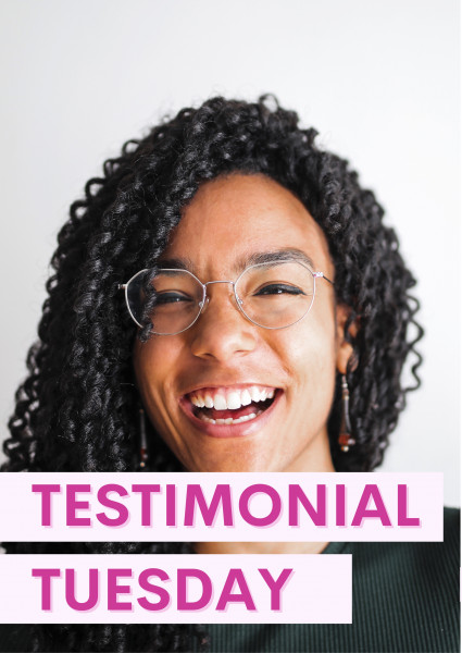 Testimonial Tuesday 02/03/20